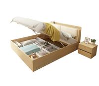 双人床功能高箱床收纳
